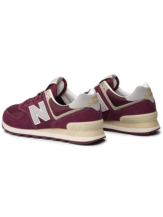 New Balance New Balance Sneakersy ML574VLB Bordó