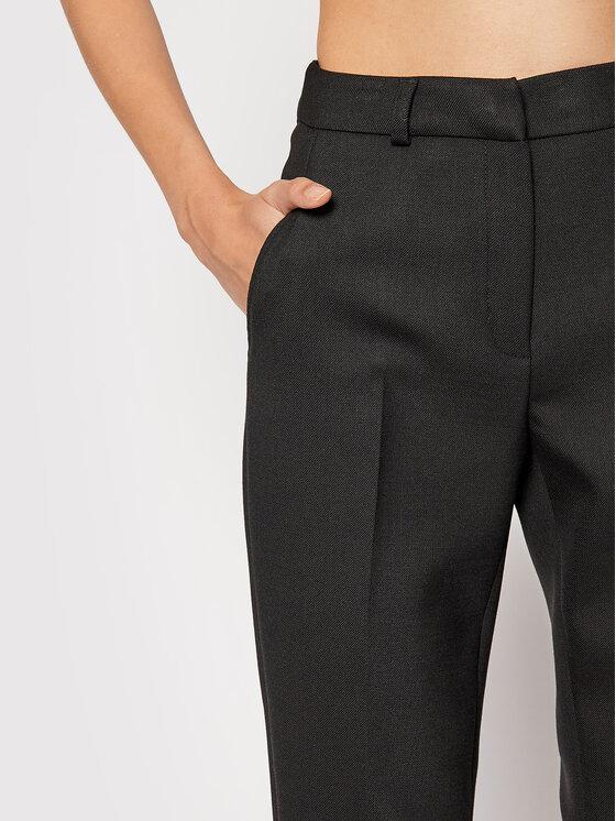 Rage Age Rage Age Spodnie materiałowe Piper 1 Czarny Slim Fit