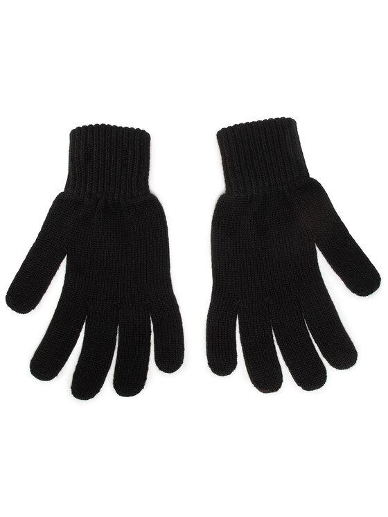 Calvin Klein Calvin Klein Rękawiczki Męskie Monogram Gloves K50K506447 Czarny