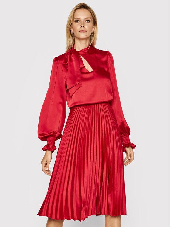Nissa Vakarinė suknelė RS11787 Raudona Regular Fit