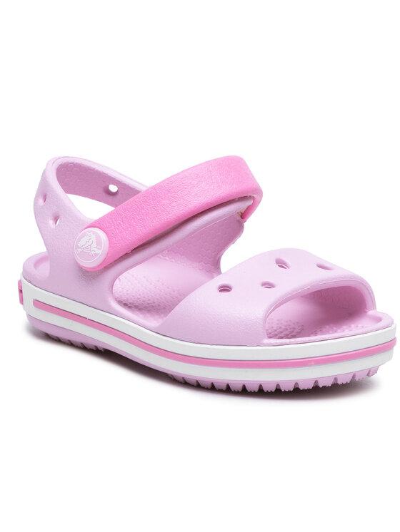 Crocs Basutės Crocband Sandal Kids 12856 Rožinė