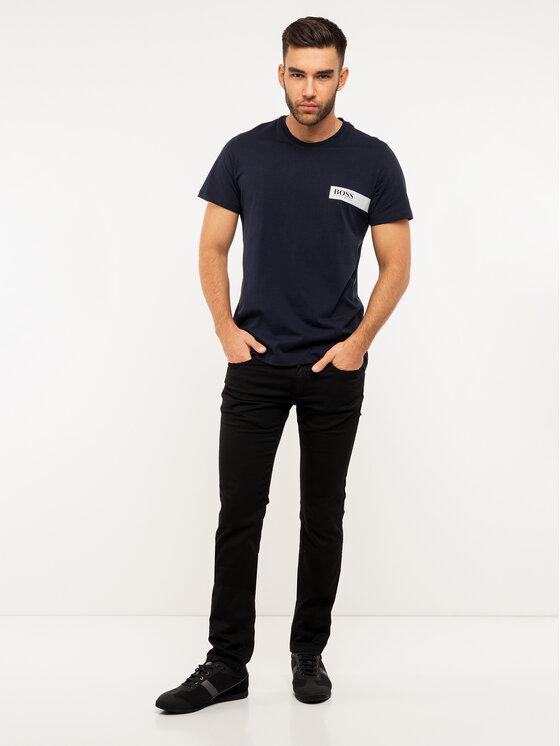 Boss Boss Marškinėliai 50404133 Tamsiai mėlyna Regular Fit