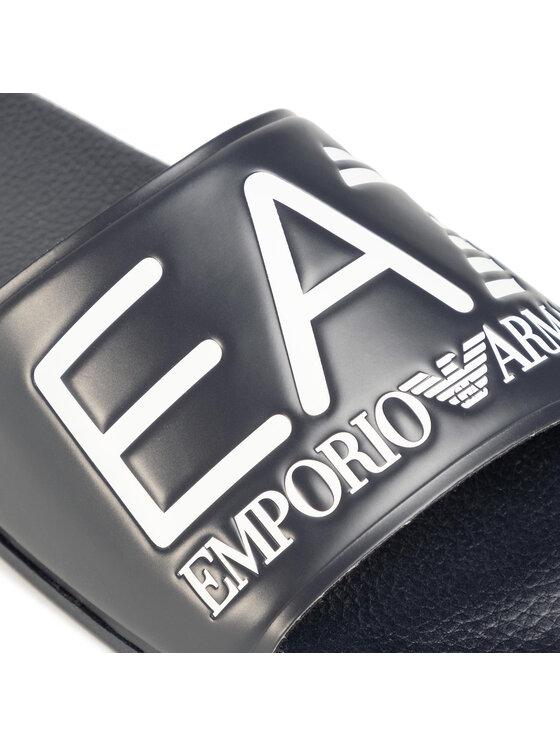 EA7 Emporio Armani EA7 Emporio Armani Papucs Fekete