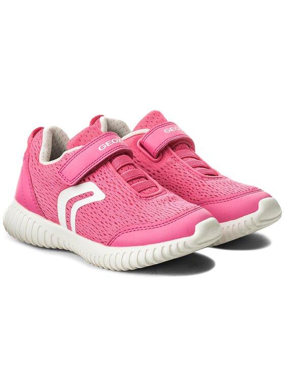 Geox Geox Sneakersy J Waviness G. C J826DC 01454 C8033 S Różowy