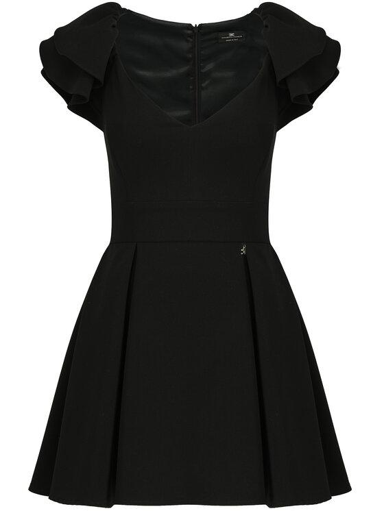 Elisabetta Franchi Elisabetta Franchi Φόρεμα κοκτέιλ AB-790-92E2-V219 Μαύρο Regular Fit