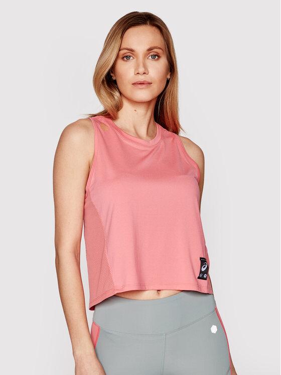 Asics Asics Koszulka techniczna Sakura 2012B943 Różowy Slim Fit