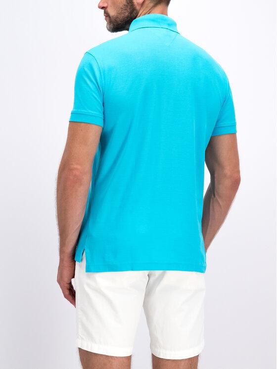 Tommy Hilfiger Tommy Hilfiger Тениска с яка и копчета MW0MW10766 Син Regular Fit