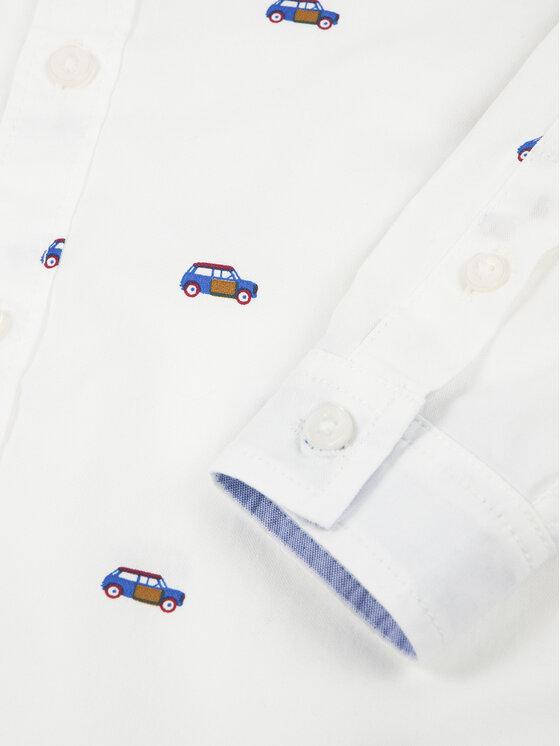 Primigi Primigi Koszula Cars Club 44161041 Biały Regular Fit