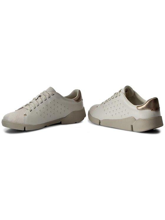 Clarks Clarks Sneakersy Tri Abby 261194924 Biały