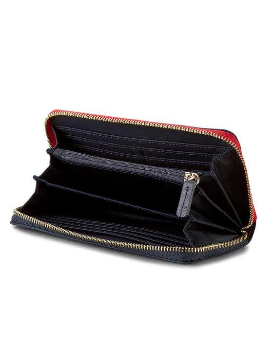 Tommy Hilfiger Tommy Hilfiger Nagy női pénztárca Poppy Large Z/A Wallet AW0AW03221 Sötétkék