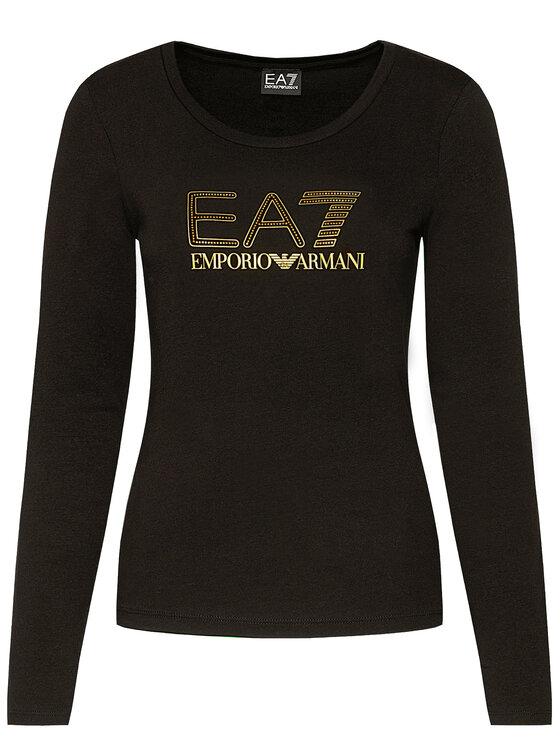 EA7 Emporio Armani EA7 Emporio Armani Palaidinė 6HTT02 TJ2HZ 1200 Juoda Regular Fit