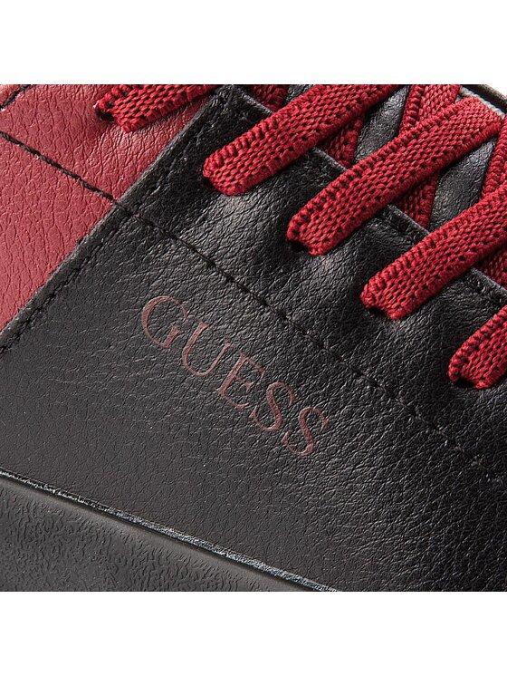 Guess Guess Tenisówki FJLUK3 LEA12 Czarny
