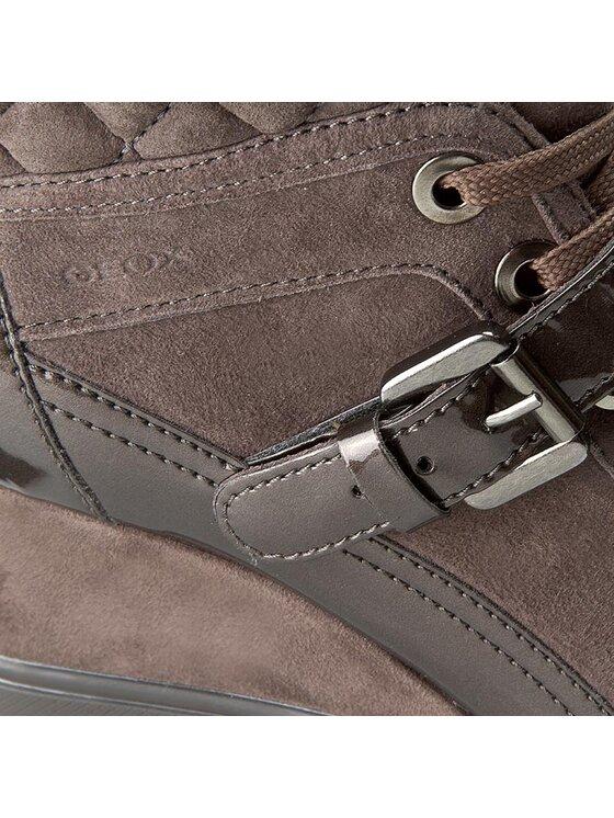 Geox Geox Sneakersy D Eleni C D6467C 021HI C6004 Brązowy