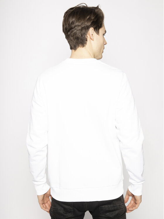 Calvin Klein Calvin Klein Felpa K10K104059 Bianco Regular Fit