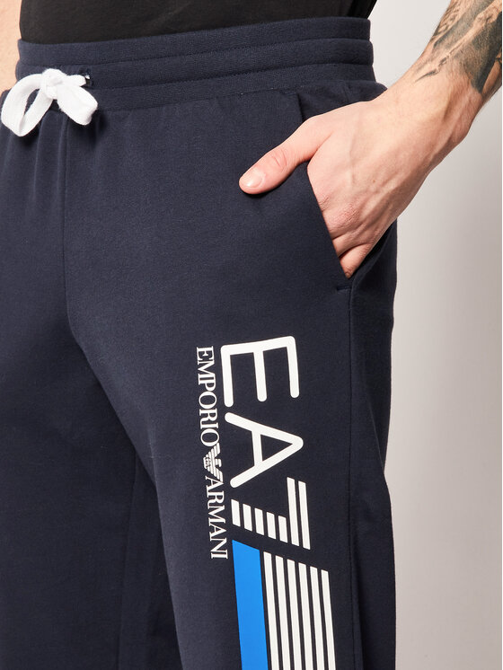 EA7 Emporio Armani EA7 Emporio Armani Spodnie dresowe 3HPP71 PJ05Z 1554 Granatowy Regular Fit