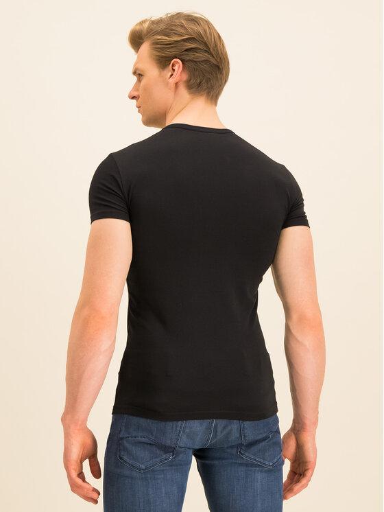 Emporio Armani Underwear Emporio Armani Underwear 2-dielna súprava tričiek 111670 0P715 17020 Čierna Regular Fit