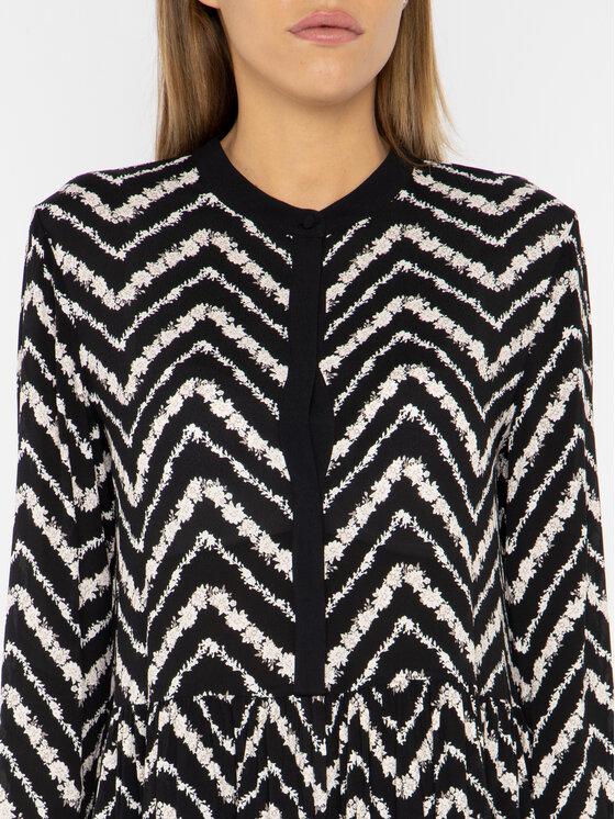 TwinSet TwinSet Hétköznapi ruha 192TP2523 Fekete Regular Fit