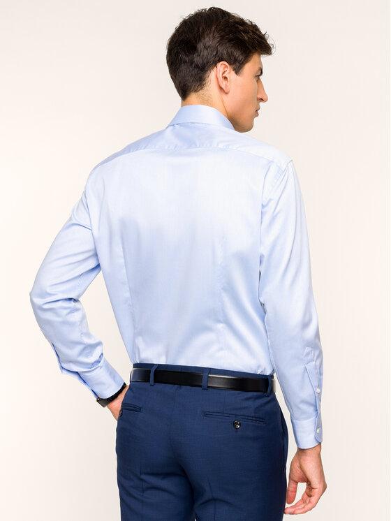 Tommy Hilfiger Tailored Tommy Hilfiger Tailored Риза TT67870366 Син Regular Fit