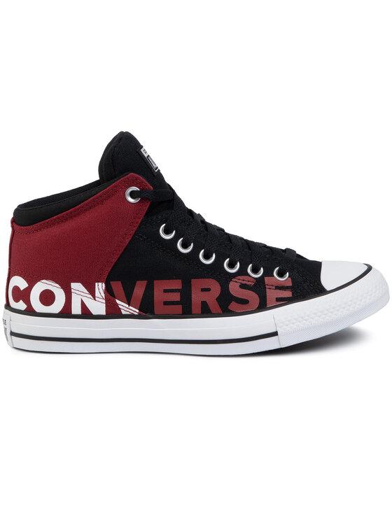Converse Converse Кецове Ctas High Street H 166334C Черен