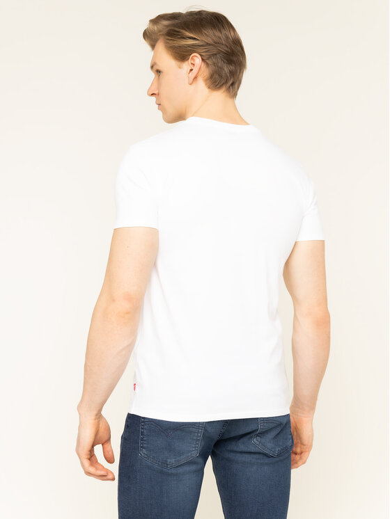 Levi's® Levi's® T-Shirt Housemark Graphic Tee 22489-0207 Bílá Regular Fit