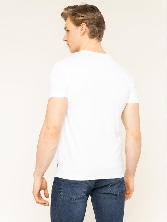 Levi's® Levi's® Тишърт Housemark Graphic Tee 22489-0207 Бял Regular Fit