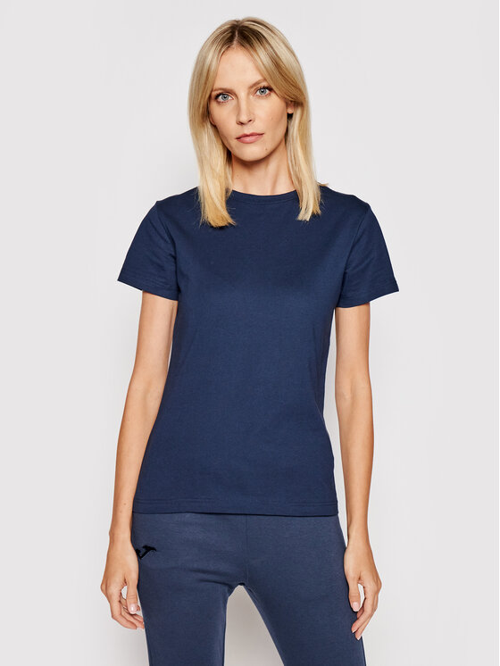 Joma Marškinėliai Desert 901326.331 Tamsiai mėlyna Regular Fit
