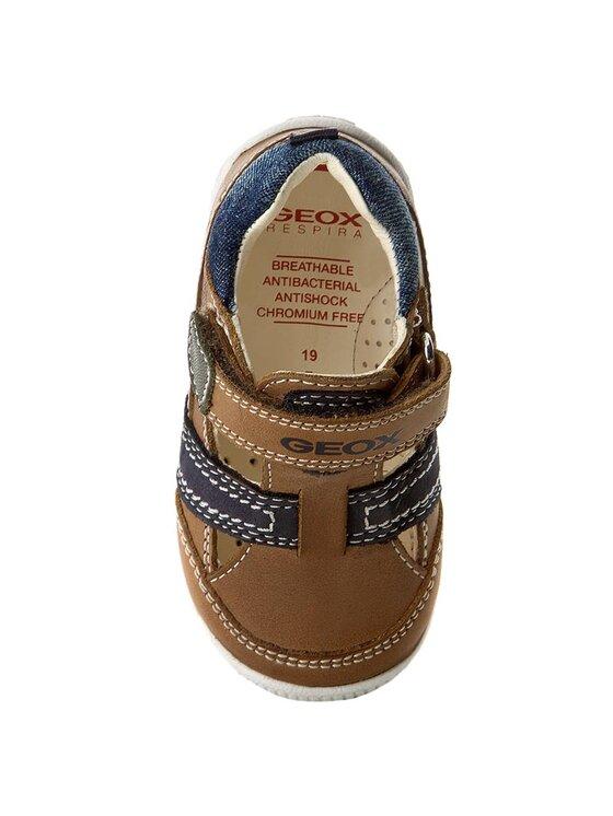 Geox Geox Обувки B N.Balu B. B B720PB 0CL32 C5GF4 Кафяв