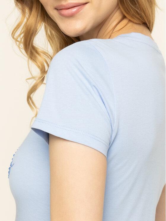 Liu Jo Liu Jo T-Shirt WA0324 J5703 Niebieski Regular Fit