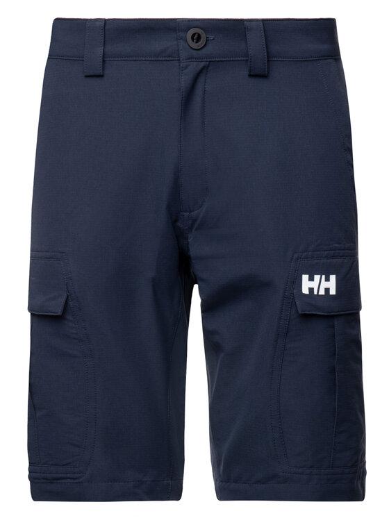 Helly Hansen Helly Hansen Szorty materiałowe Hh Qd Cargo 54154 Granatowy Regular Fit
