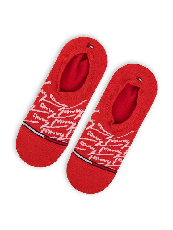 Tommy Hilfiger Tommy Hilfiger Σετ κάλτσες σοσόνια ανδρικές 2 τεμαχίων 391009001 Κόκκινο