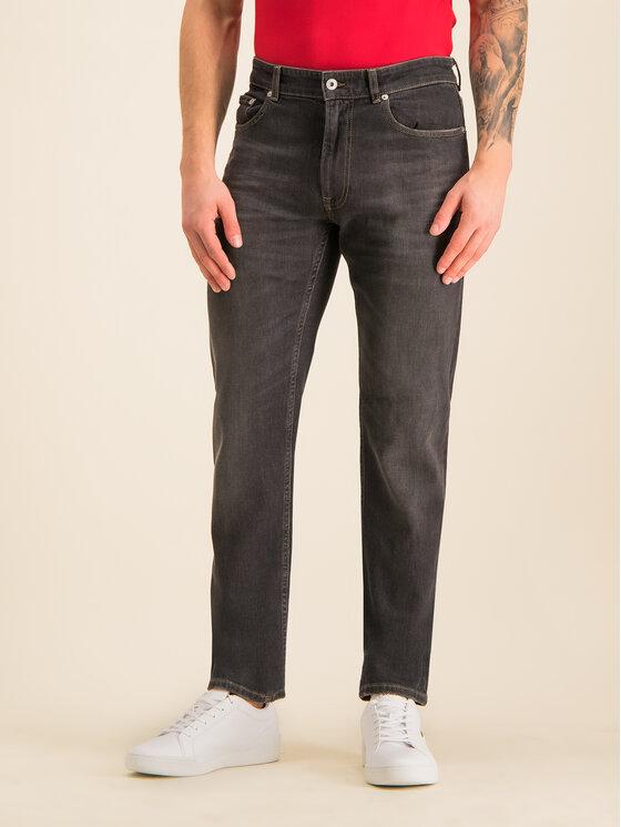 Lacoste Lacoste Prigludę (Slim Fit) džinsai HH7510 Pilka Slim Fit