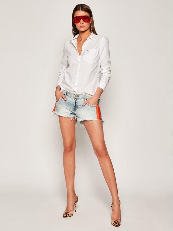 Tommy Jeans Tommy Jeans Πουκάμισο Tjw Original Light DW0DW04433 Λευκό Regular Fit