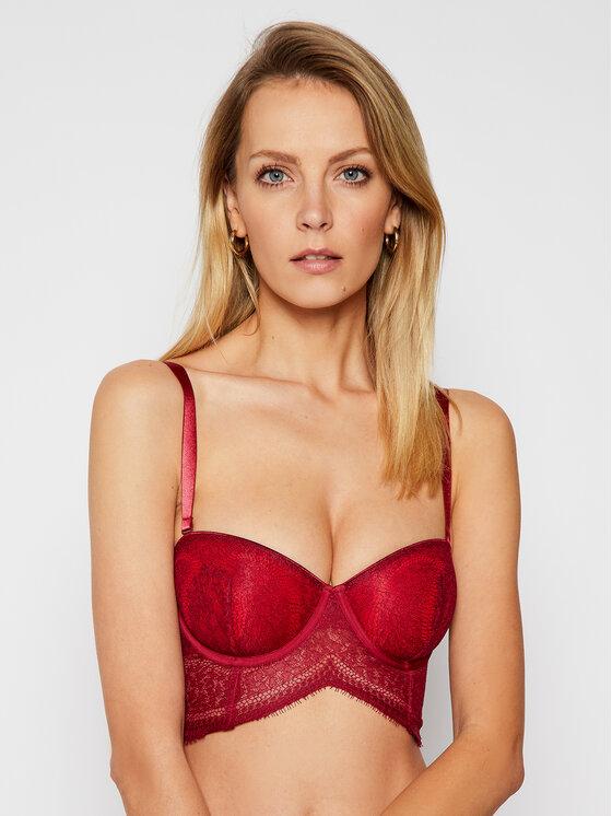 Calvin Klein Underwear Bardotė liemenėlė 000QF5404E Raudona