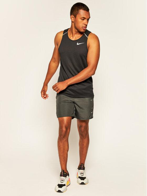 Nike Nike Koszulka techniczna Rise 365 AQ9917 Czarny Standard Fit