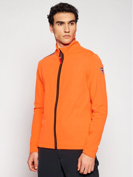 Rossignol Džemperis Palmares Full Zip RLIML05 Oranžinė Slim Fit