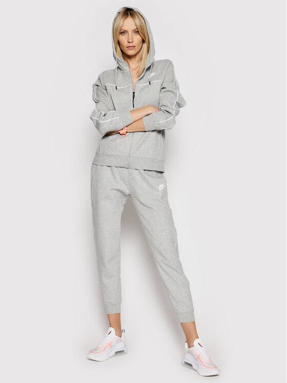 Nike Nike Spodnie dresowe Sportswear Fleece Jogger CZ8340 Szary Standard Fit
