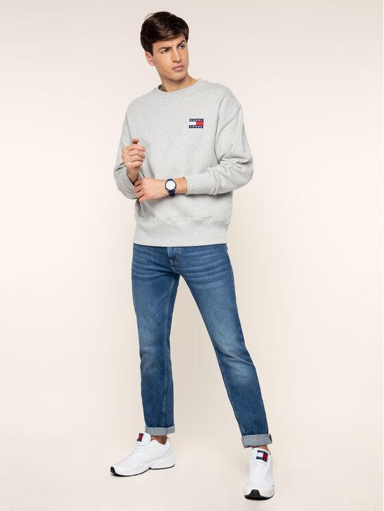 Tommy Jeans Tommy Jeans Pulóver DM0DM06592 Szürke Regular Fit