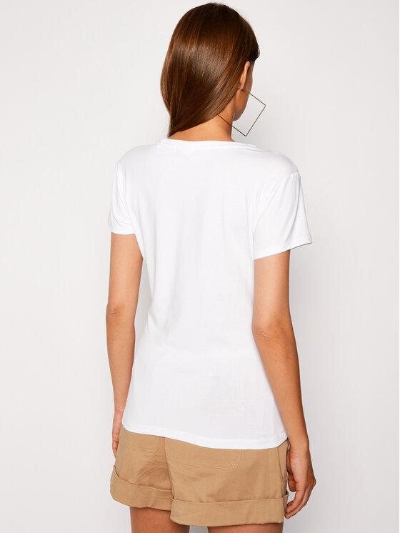 Guess Guess T-shirt O94I02 J1311 Blanc Slim Fit