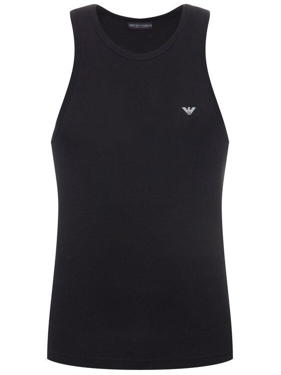Emporio Armani Underwear Emporio Armani Underwear Trikó 110828 CC735 00020 Fekete Slim Fit