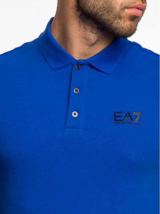 EA7 Emporio Armani EA7 Emporio Armani Polokošile 3GPF52 PJ04Z 1582 Modrá Regular Fit