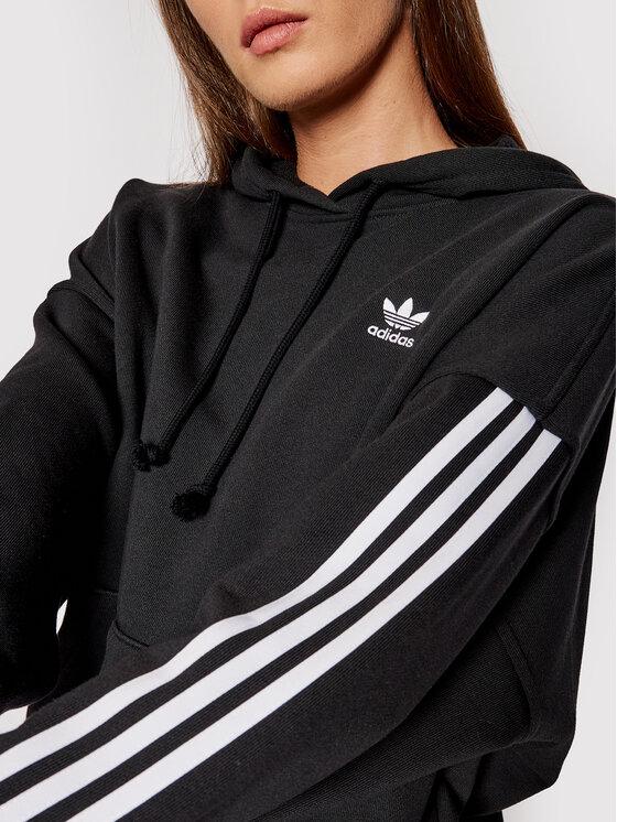 adidas adidas Majica dugih rukava adicolor Classics H37799 Crna Oversize