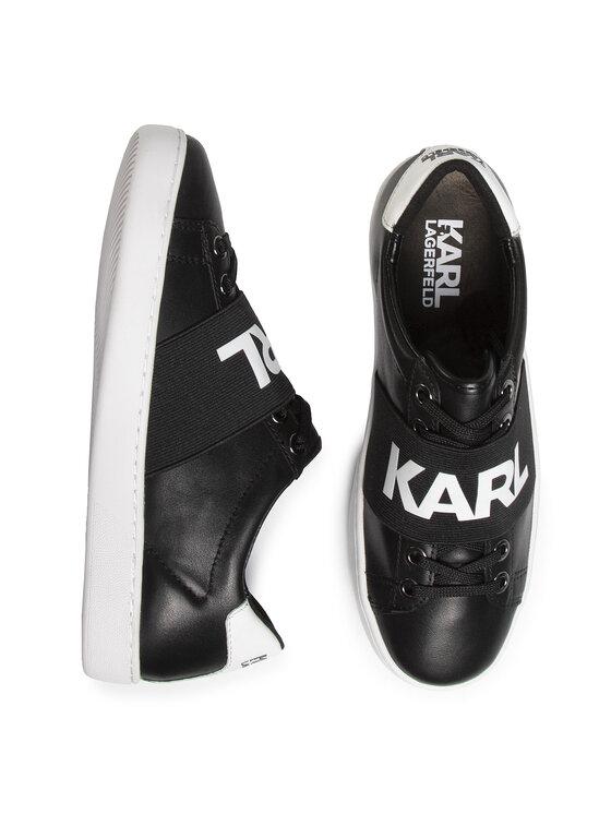 KARL LAGERFELD KARL LAGERFELD Sneakersy KL61236 Czarny