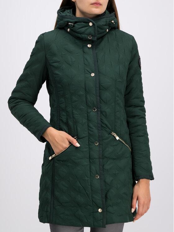 Desigual Desigual Manteau de mi-saison 19WWEWC4 Vert Regular Fit
