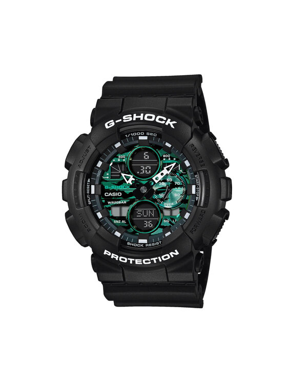 G-Shock Laikrodis GA-140MG-1AER Juoda