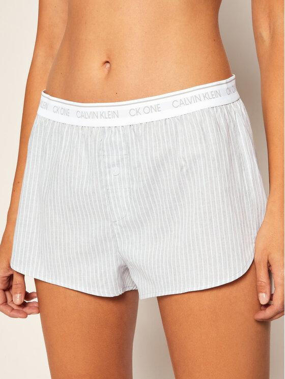 Calvin Klein Underwear Calvin Klein Underwear Pyžamové šortky Sleep 000QS6437E Šedá Regular Fit