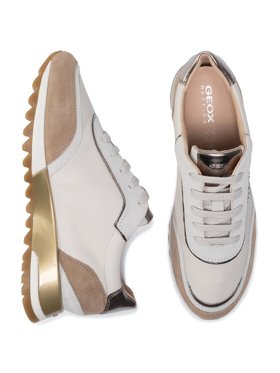 Geox Geox Sneakers D Tabelya A D94AQA 08522 C1002 Bianco