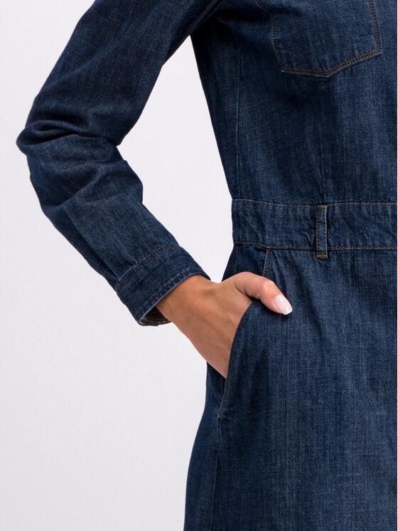 Marc O'Polo Marc O'Polo Marškinių tipo suknelė 907 9138 26033 Tamsiai mėlyna Regular Fit