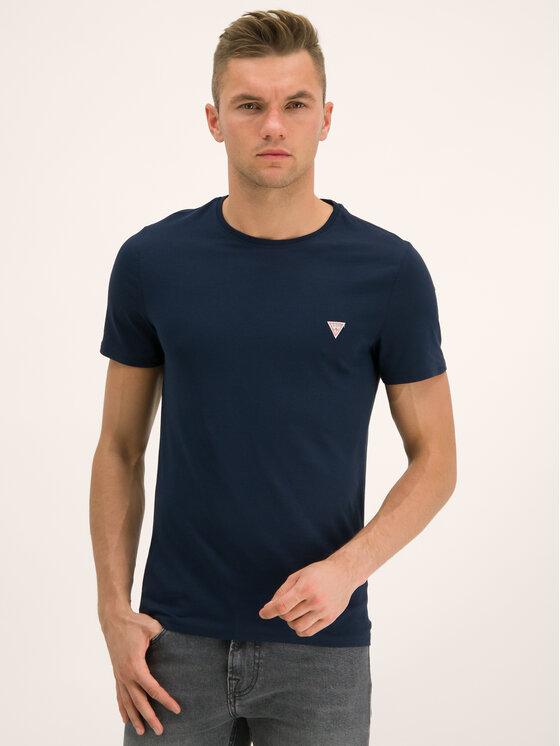 Guess Guess T-shirt M94I36 I3Z00 Blu scuro Slim Fit