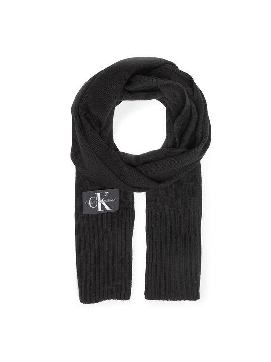 Calvin Klein Jeans Calvin Klein Jeans Sál és sapka szett J Basic Men Knitted Scarf+Beanie K50K505104 Fekete