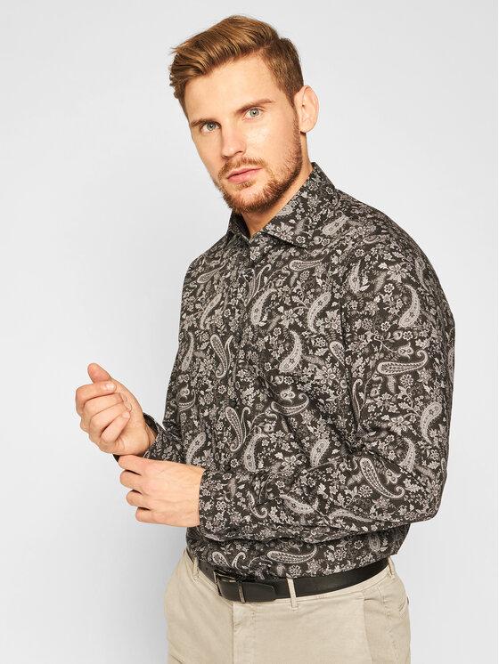 Pierre Cardin Marškiniai 5722/000/27219 Juoda Modern Fit